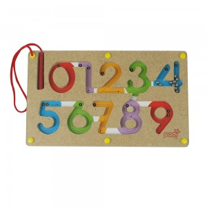 Mainan Kayu, Kayu, Mainan Anak kayu, Anak, Puzzle, 123, Magnetic, Magnet, Magnetic Maze