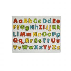 Mainan kayu puzzle abc