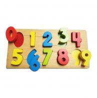 Puzzle Chunky, Chunky Puzzle, SNI , Mainan kayu, Bagus, Murah