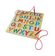 Mainan Kayu, Kayu, Mainan Anak kayu, Anak, Puzzle, ABC, Magnetic, Magnet, Magnetic Maze