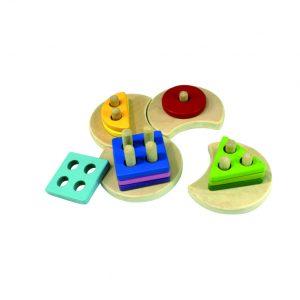 geometi shape - riang toys - mainan kayu