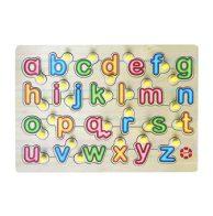 Puzzle Knob ABC , SNI , Mainan Kayu
